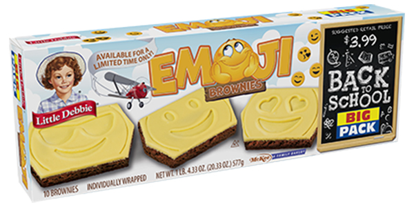 Emoji Brownies