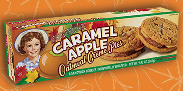 NEW! Caramel Apple Oatmeal Creme Pies