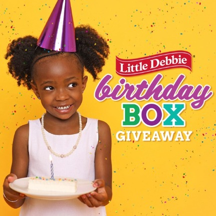 Little Debbie® Birthday Box Giveaway