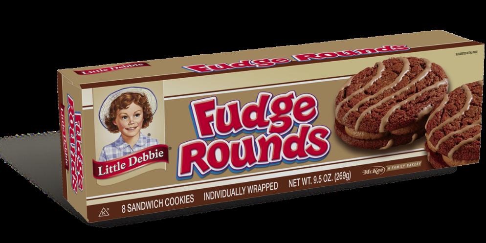Fudge Rounds Little Debbie