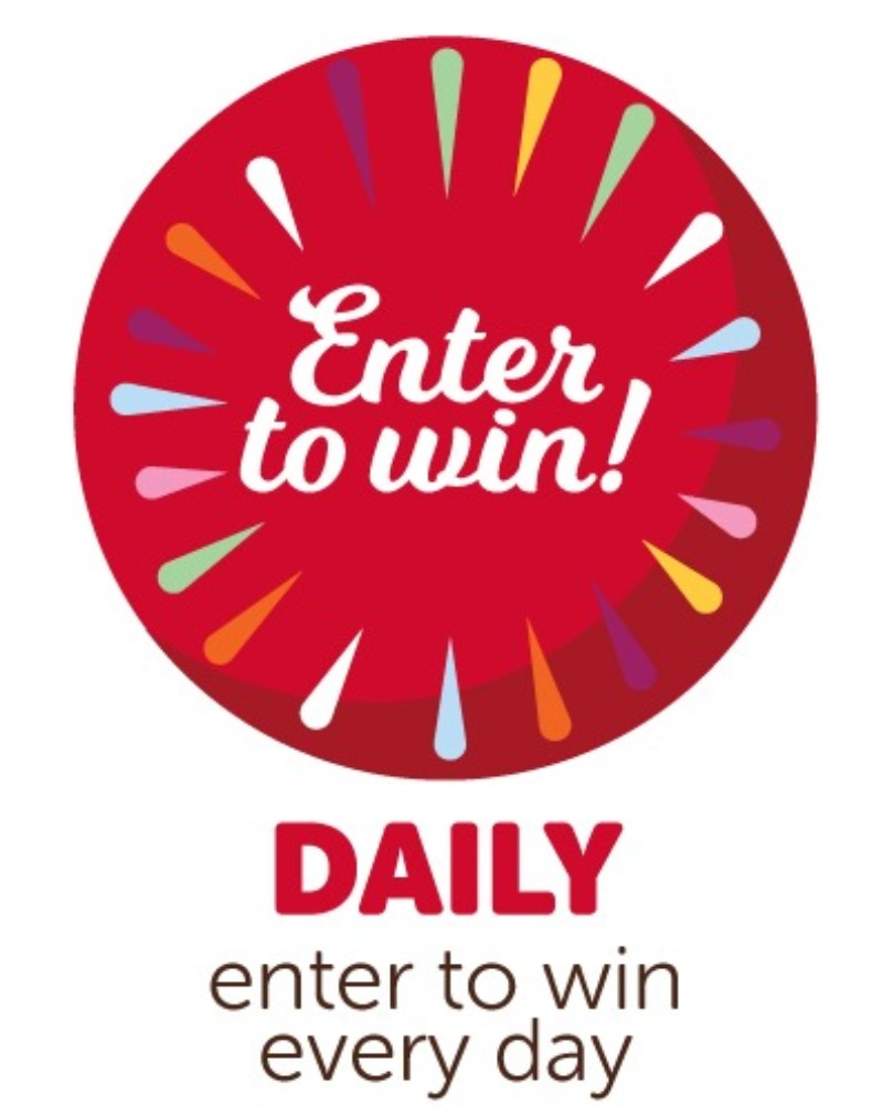 Enter to win daily!