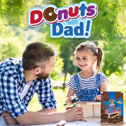 Little Debbie® Donuts with Dad Giveaway 2020