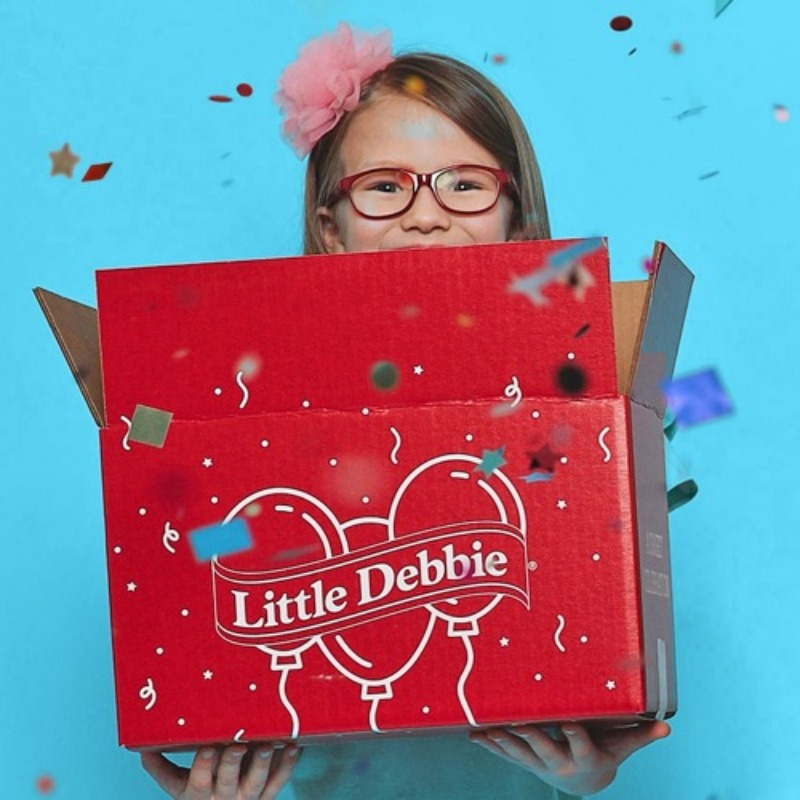 Little Debbie Birthday Box Little Debbie