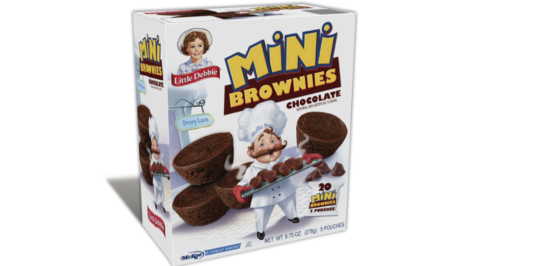 Mini Brownies Chocolate Little Debbie