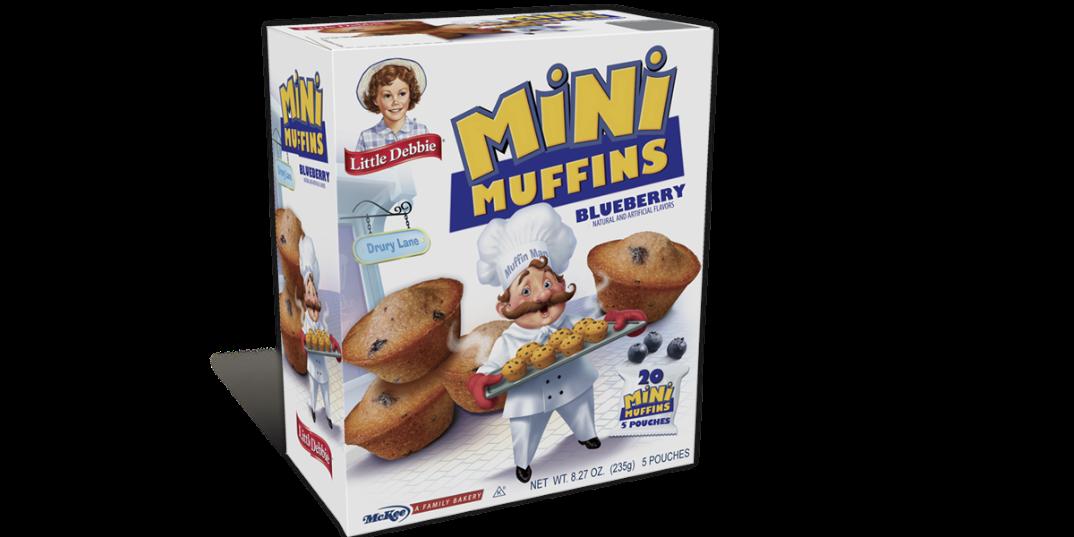 Mini Muffin Blueberry Little Debbie
