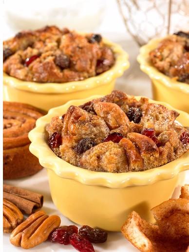 Little Debbie® Pecan Spinwheels® Bread Puddings