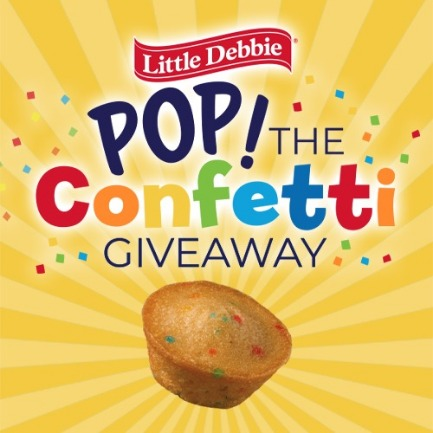 Little Debbie® Pop the Confetti Giveway