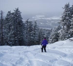 Mount Ascutney - West Windsor, Vermont Skier