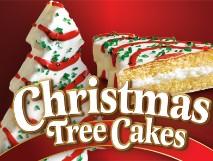 Little Debbie® Christmas Tree Cakes® Van.