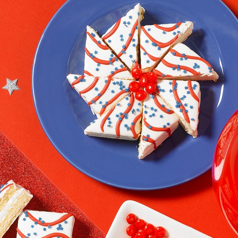 Little Debbie® Red, White & Blue Cakes Pinwheel