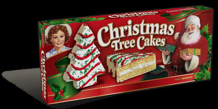 Christmas Tree Cake -Van. | Little Debbie