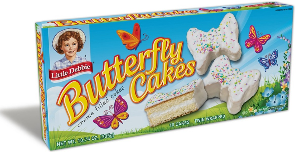 Little Debbie® Spring Butterfly Cakes