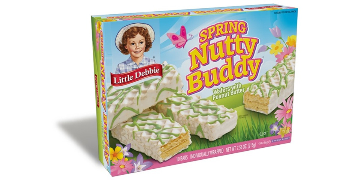 Little Debbie® Spring Nutty Buddy® Wafers with Peanut Butter