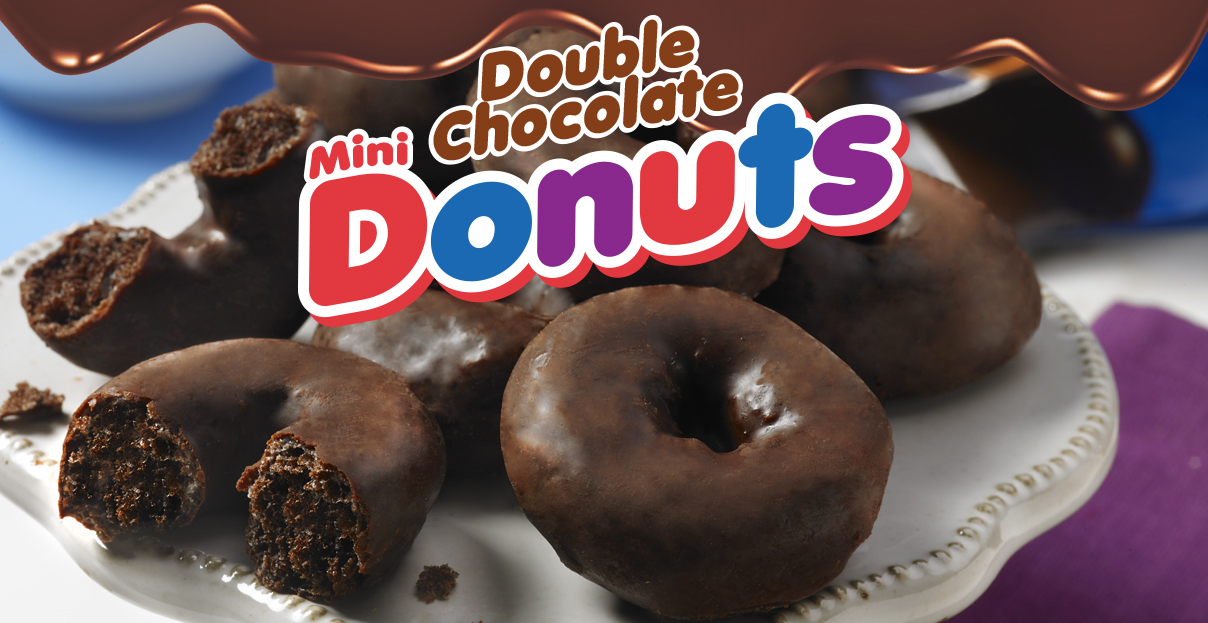 Double Chocolate Mini Donuts