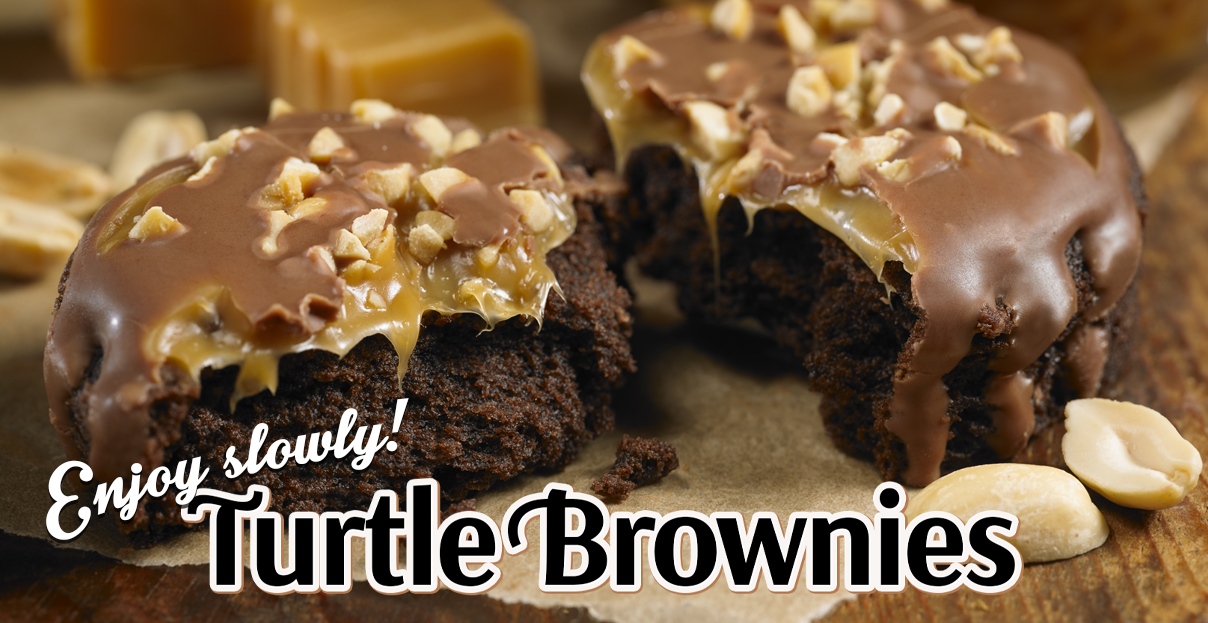 Turtle Brownies 1