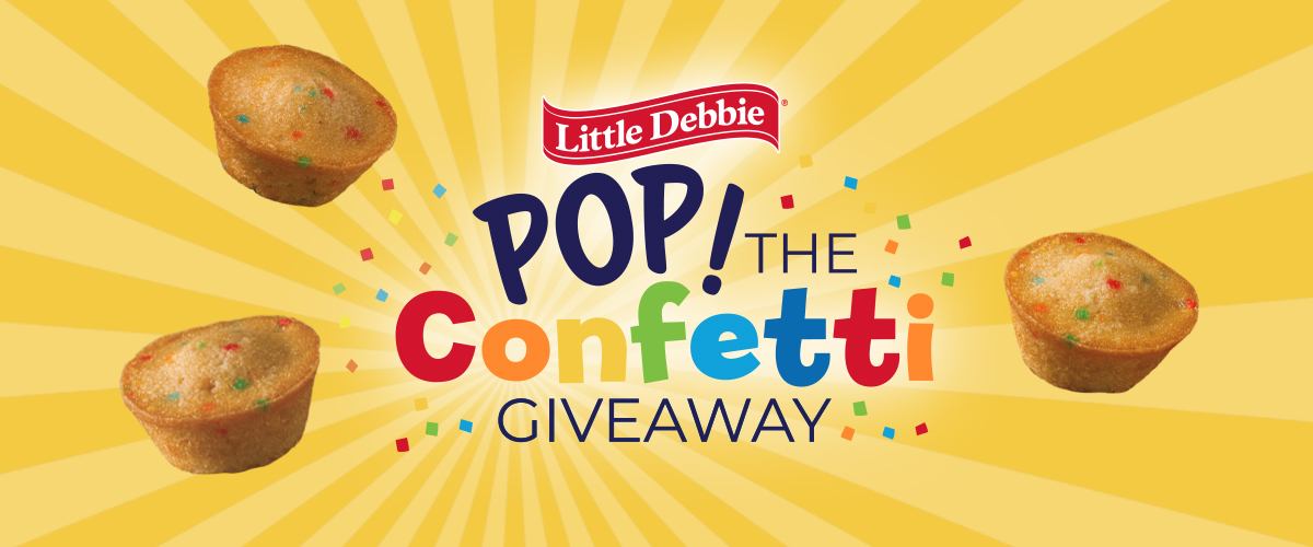 Pop the Confetti Giveaway