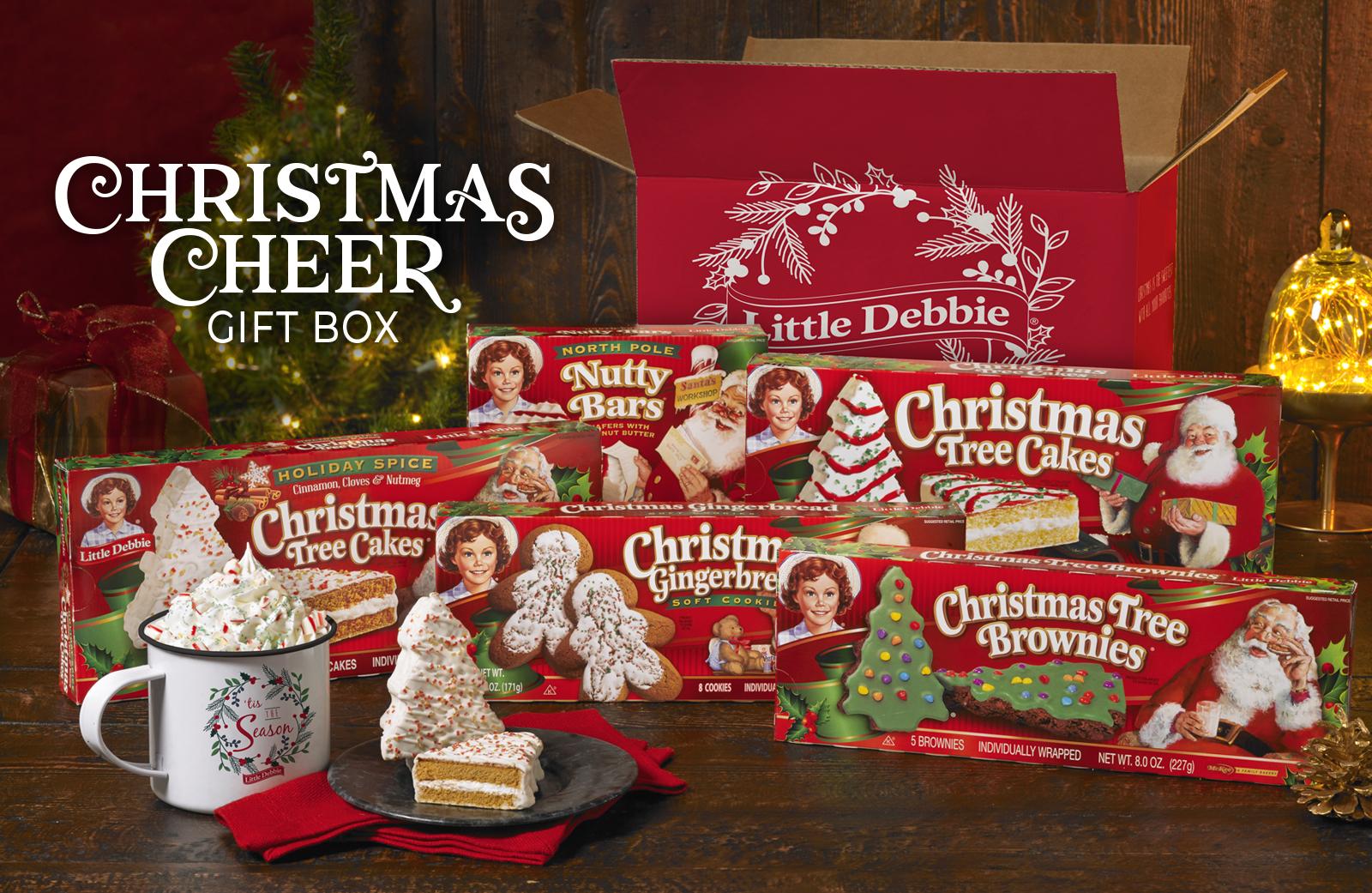 Little Debbie® Christmas Cheer Gift Box | Little Debbie