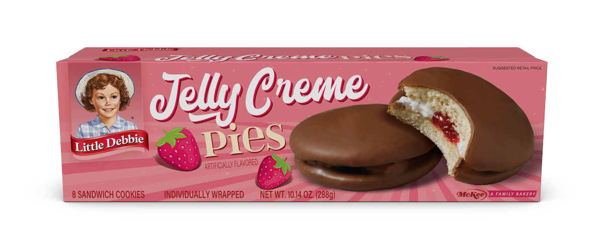 Jelly Creme Pies
