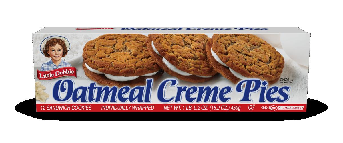 Oatmeal Creme Pies | Little Debbie