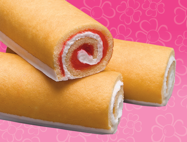 Strawberry Shortcake Rolls