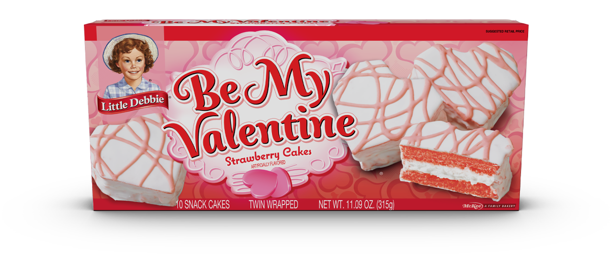 Be My Valentine Cakes (Strawberry)