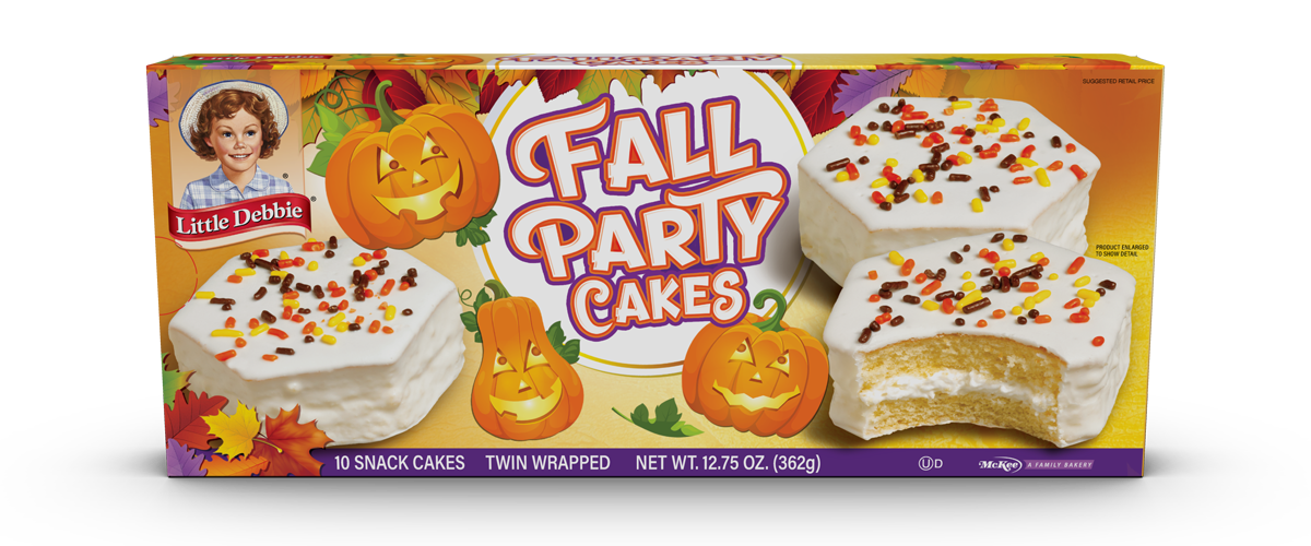 Fall Party Cakes - Van.