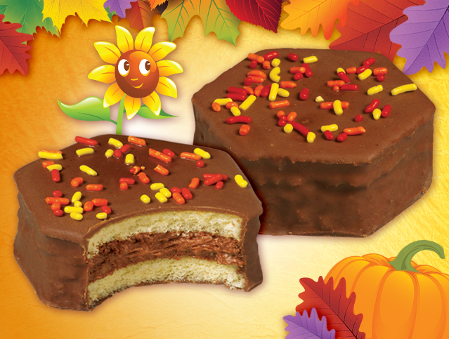 Fall Party Cakes - Choc.