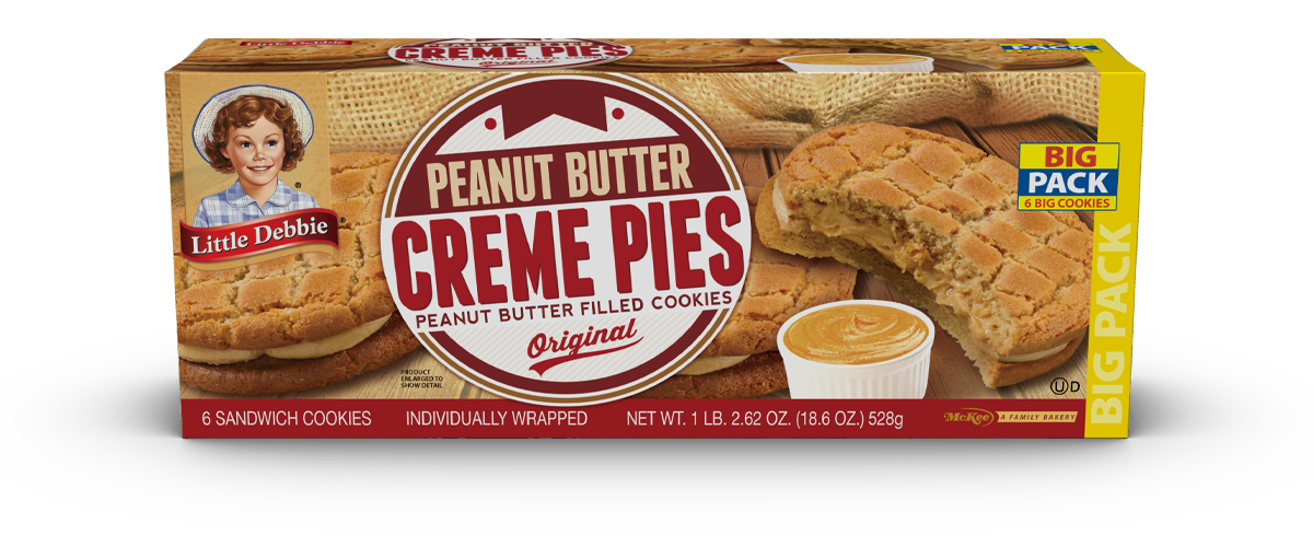 Peanut Butter Creme Pies