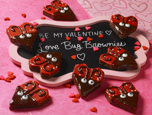 Love Bug Brownies