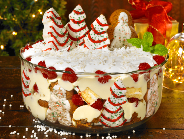 Winter Wonderland Trifle