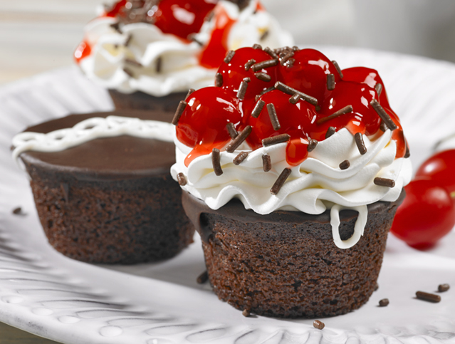 Black Forest Chocolate Cupcakes