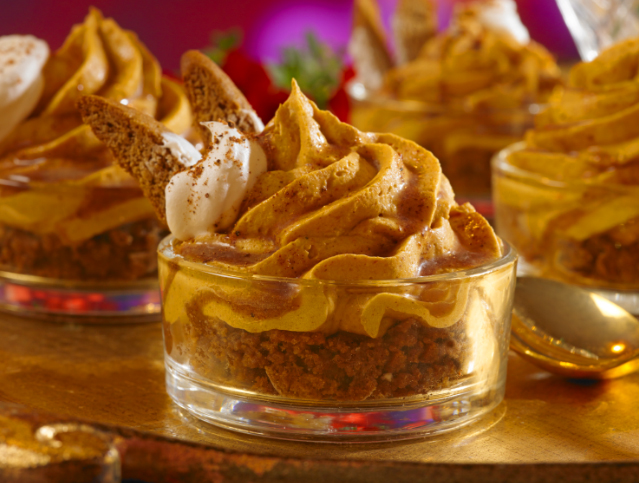 Pumpkin Gingerbread Mousse
