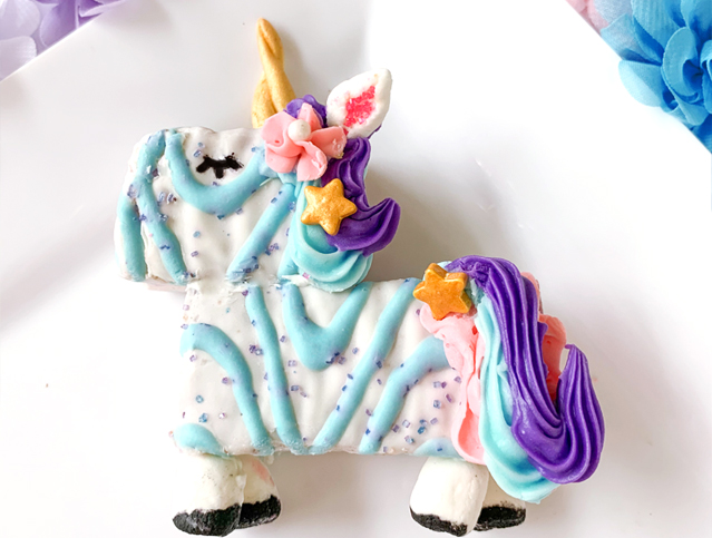 Mini Unicorn Cakes
