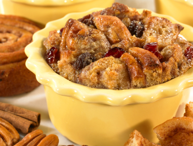 Pecan Spinwheels® Bread Pudding