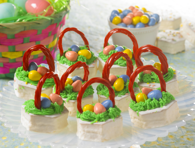 Easter Basket Cakes