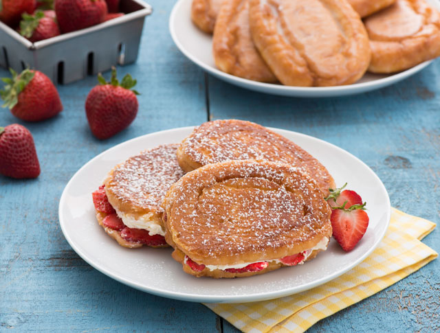 Honey Buns Strawberry French Toast