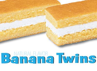 Banana Twins Little Debbie