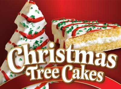 Christmas Tree Cake Van Little Debbie