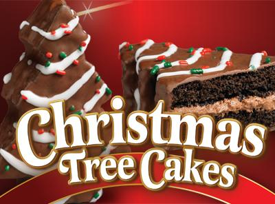Christmas Tree Cake Choc Little Debbie