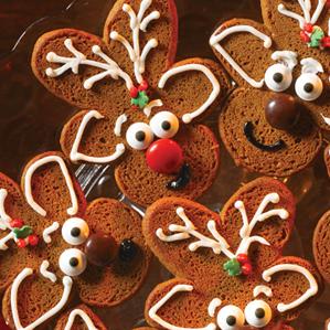 Little Debbie Gingerbread Cookie Reindeer Little Debbie
