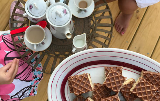 A Nutty Buddy® Tea Party!
