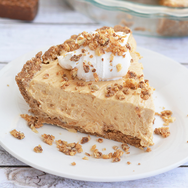 No Bake Peanut Butter Nutty Buddy® Pie