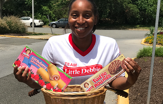 Engineer by day and tech reviewer by night, her latest role is that of Little Debbie Brand Ambassador.